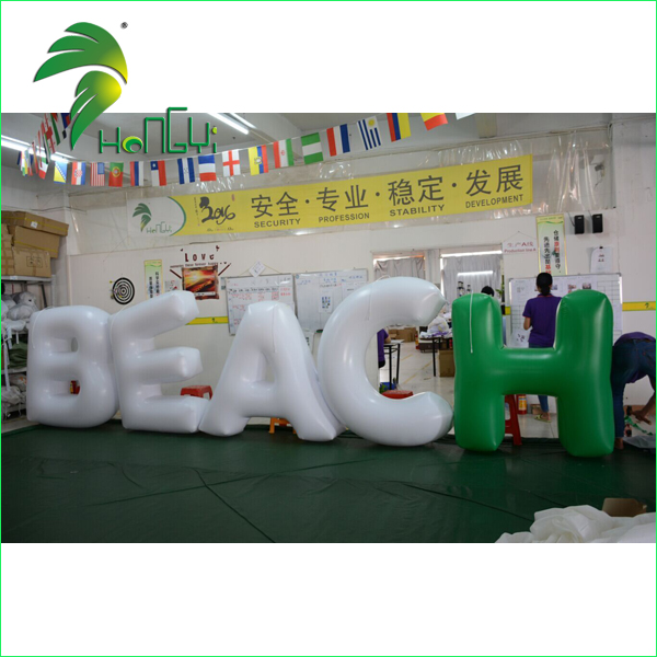 Newstyle Event Decoration Colorful Inflatable Letters / Advertising Decorative Alphabet Letters Signage