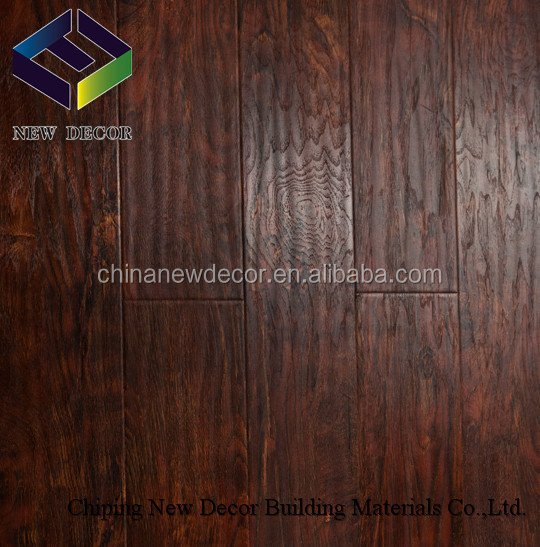 HDF core, AC3/4 resistance waxed laminate flooring with 2mm eva