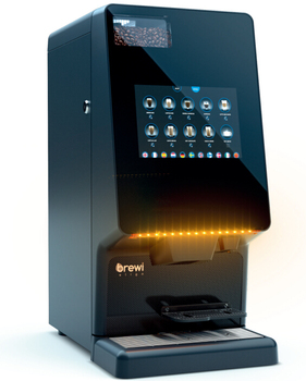Sapoe Automatic Dynamic Touch Screen Bean To Cup Coffee Vending Machine