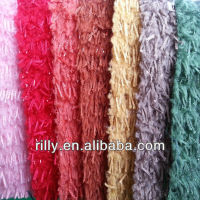 2013 new style 100% polyester plush fabric