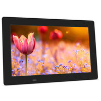 DC power input small lcd digital photo frame 10 inch