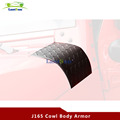 J165 Cowl Body Armor Powder Coated Finish Outer Cowling Cover for Jeep Wrangler JK Rubicon Sahara & Unlimited 2/4 door 2007-2016