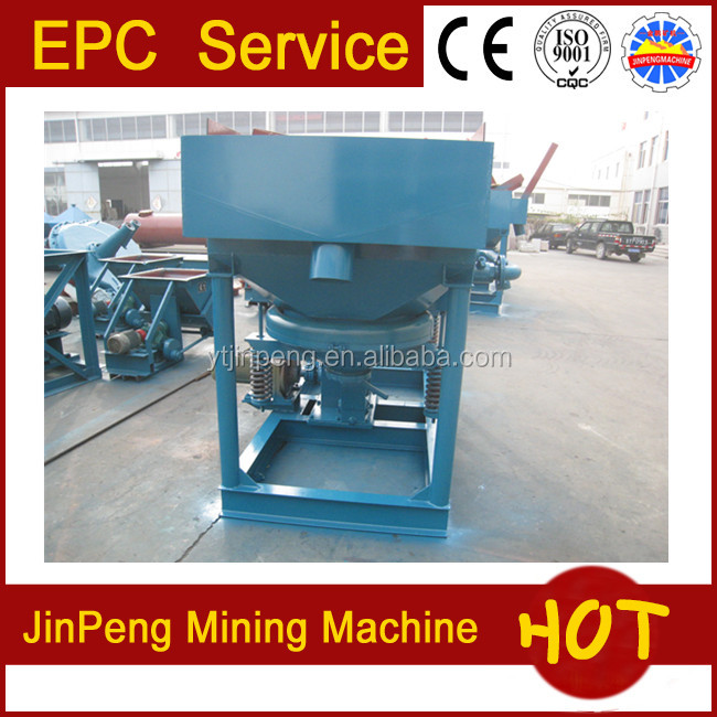Widely used gravity separator jig for iron, tungsten, tin&alluvial gold