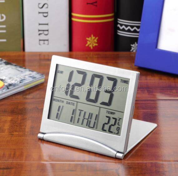 1pcs Calendar Alarm Clock / Desk Digital LCD Thermometer / Digital LCD Alarm Clock