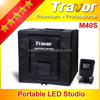 Fashionable for Ebay and Amazon online store sellers mini photo studio light shed box for photo shooting with different backdrop