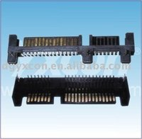 Dongguan Yxcon 7pin and 15pin right angle with CAP DIP SATA connector