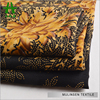 Mulinsen Textile Woven 50D Poly Wool Peach Printed Fall Fabric With Silver Powder