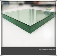 manufacture price 15mm tempered laminated safety glass for doors and windows