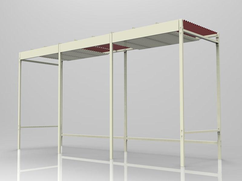 Promotional Slider Rail Rug Display Rack Shelf For Area