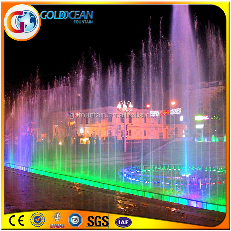 Large Dancing Outdoor Water Fountain Floating Lake Pumps