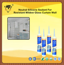 Resistant Mildew Glass Curtain Wall Neutral Silicone Sealant