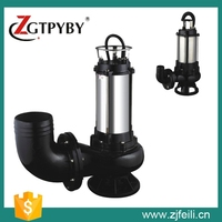 vertical inline sewage centrifugal pump with vortex impeller sewage plant
