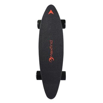 Overseas warehouse direct delivery max speed 25km/h electric skateboard