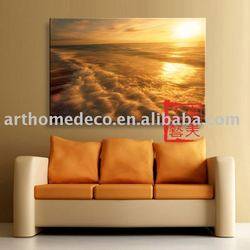 wrapped printed canvas printing