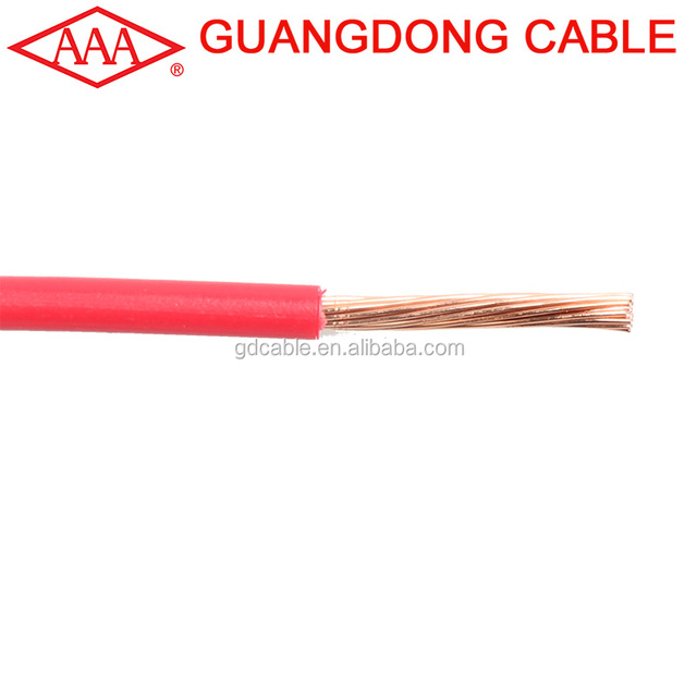 BVR 16mm different types of electrical cables 16mm2 wire power cables of guangdong cable