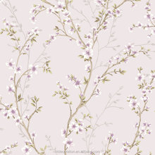 ZK-219602 HL Decoration 2017 small purple flowers bedroom wallpaper