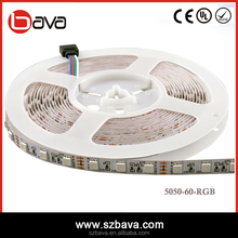 CE ROHS high lumen DC5V/12V color changing 50 50 rgb led strip 3 years warranty