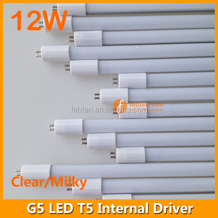 LED T5 with internal power supply led tube light 3ft 12W 180-265VAC