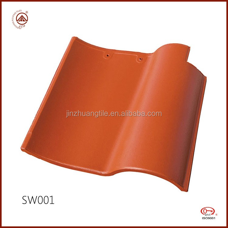 Chinese manufacturer Good Prices Colorful Spanish Roof Tiles