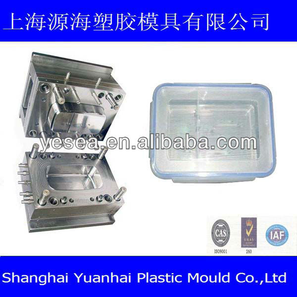 2013 hot sale hgh quality&cheap food container mold case manufacturer in Shanghai China