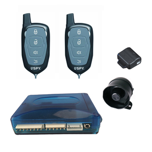 Universal remote control car alarm system with remote engine start