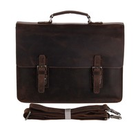 7223R Vintage Style Custom Top-Quality Genuine Leather Business Briefcase