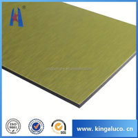 PVDF facade wooden treatment acp