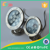 12V DC IP68 RGB 3W UL listed led underwater light for boat