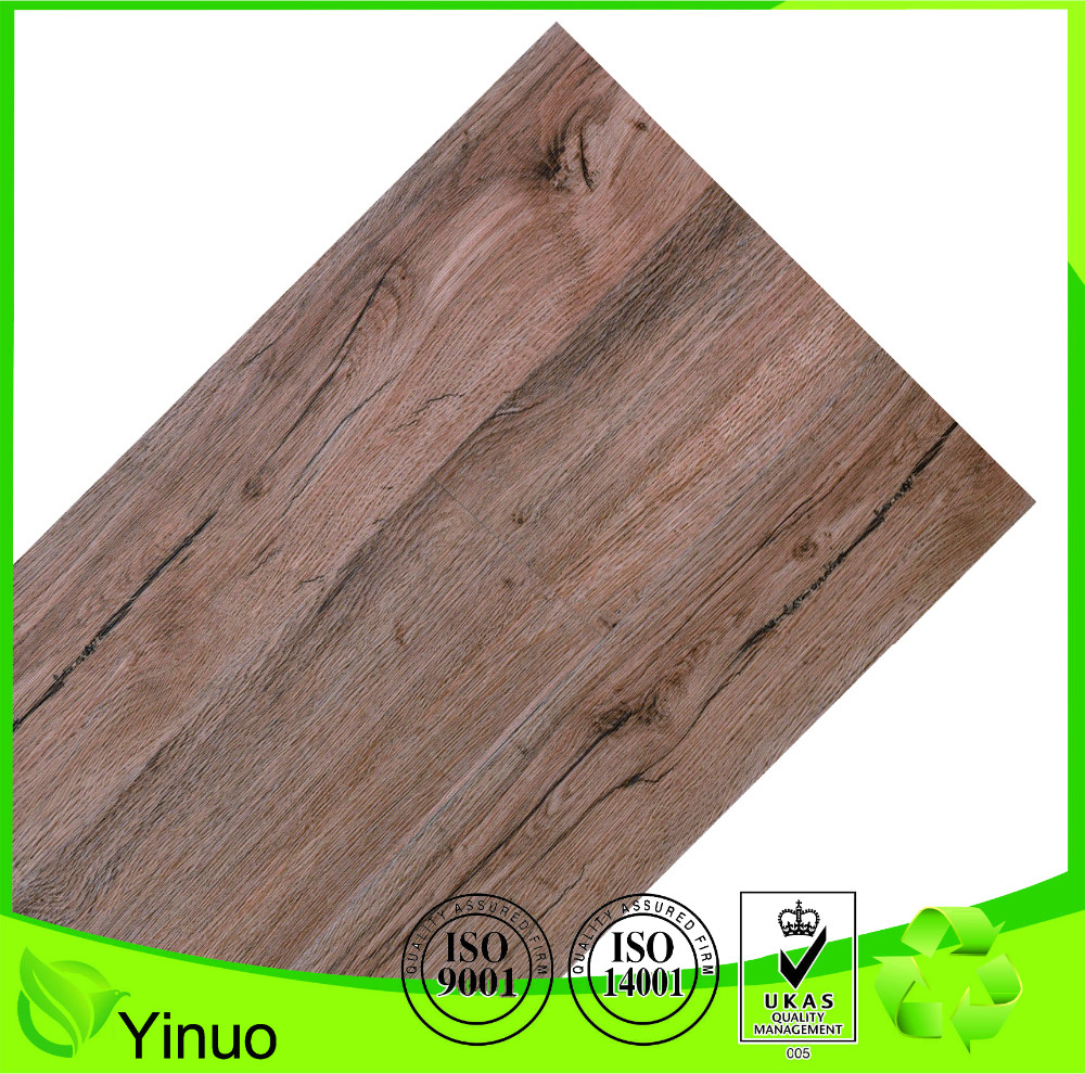 Waterproof laminate plank wood pvc sports flooring
