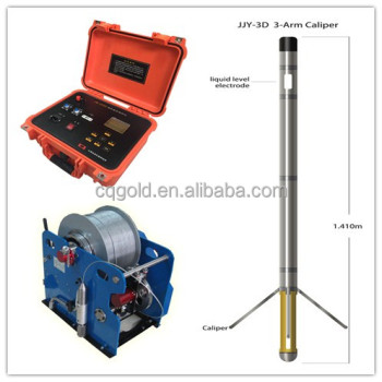 Geophysical Deep Borehole Logging System for SPR, NR, LR, Natural Gamma,Density