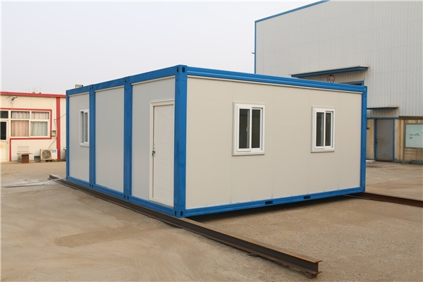 be well-suited to light steel frame buildings ready-made motel container house:2.25x6m