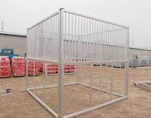 Galvanized Horse Stable with HDPE Panel
