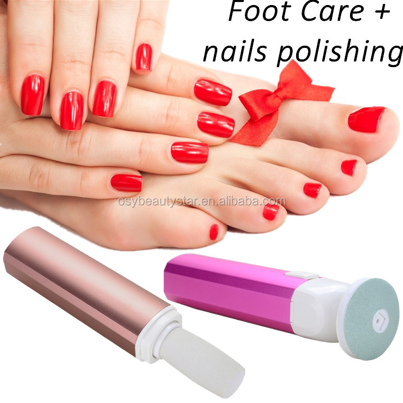 Hot Rechargeable Foot Care + nail polishing Electric Pedicure Peeling Dead Skin Removal Feet Care Machine Personal Care For Feet