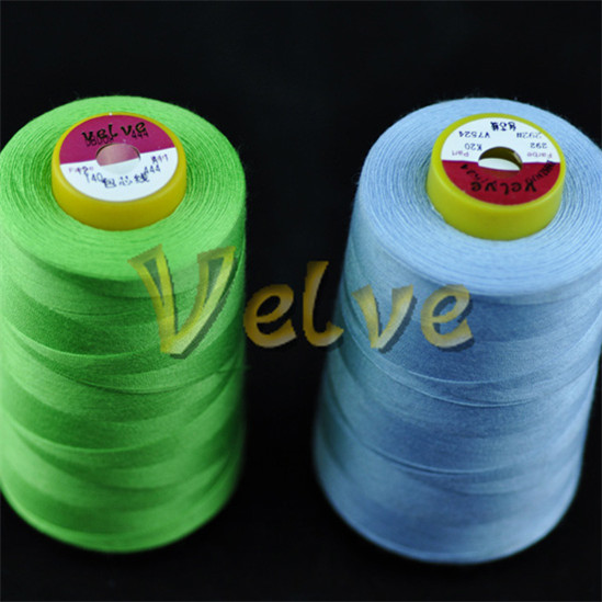 textile thread cone sewing thread winding cotton / poly core spun sewing thread