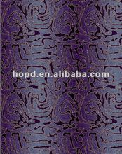 Deep purple star hotel lobby flooring carpet