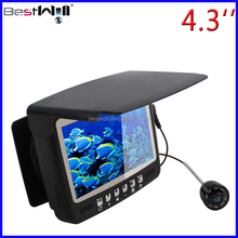 CR110-7HBS with Sun-visor 4.3'' Digital LCD Screen HD 1000 TVL Underwater Fishing Camera Ice Fishing Camera 15-30m strong cable