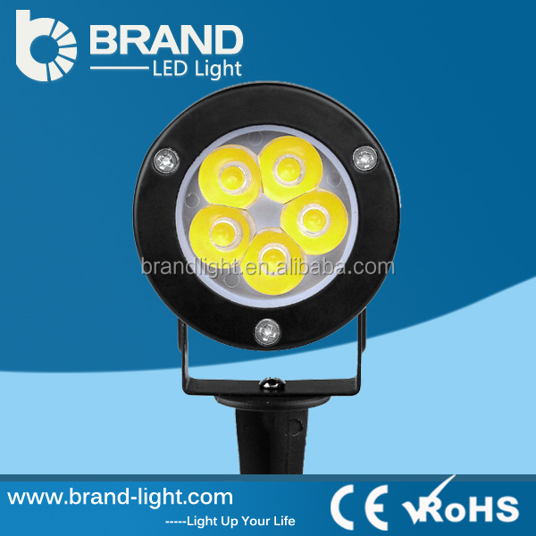IP65 Exterior LED Garden Lamp 5W COB LED Garden Lamp 220 Volt CE RoHS