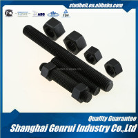 Hardened and Tempered M85 grade 8 black oxide full threaded UNC stainless steel ball bearing threaded rod