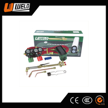 Ningbo UWELD Portable Mini Welding Torch Kit with Oxygen Acetylene Regulators