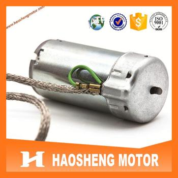 High quality TS16949 approval RH-487SD2548 DC Micro Motor for BMW 7series back massage system.