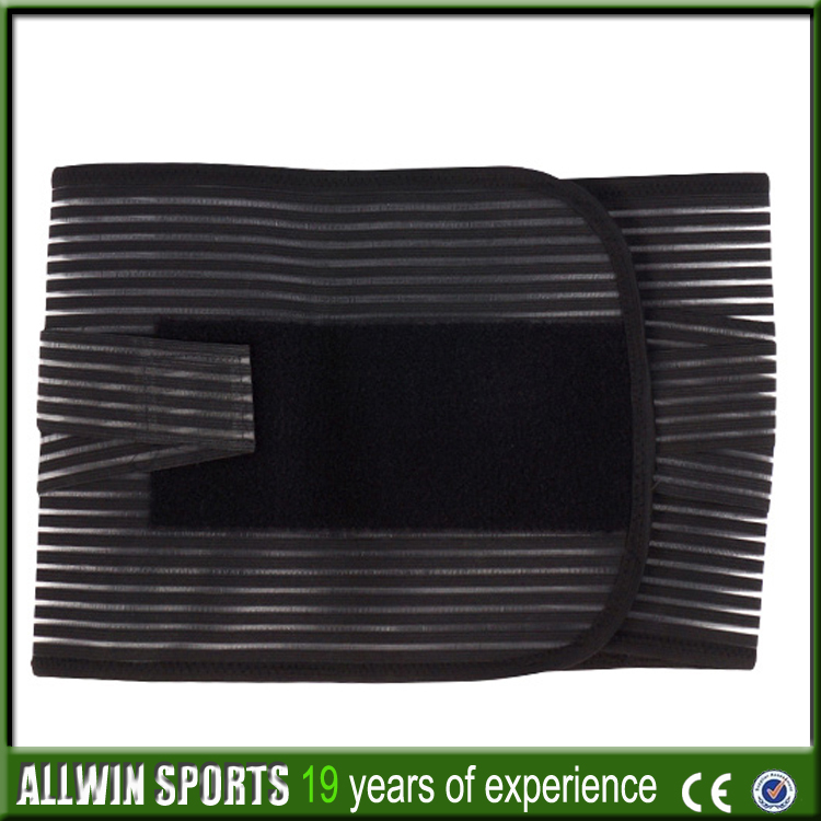 China wholesale 8 steel bone back support belt ALLWIN-Y116