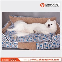NEW Design Warm Winter Pet Bed Comfortable Sofa with Removable Pet Mat