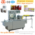 High Speed Condom Carton Box Cellophane Wrapping Packing Machine Price