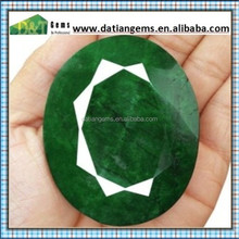 Best Hot Sale Fashion Cut emerald Created emerald tumbled stones