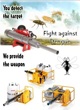 Thermal Fogging Equipment, Profession Fogger all types Fight Against Dengue!