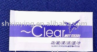 Clear Wet Tissue