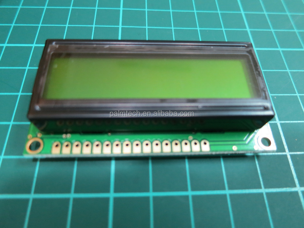 16X2 LCD Module display Blue Yellow Green Character 1602 COB STN type
