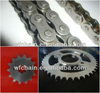 moto chain and sprocket kits /bajaj moto parts