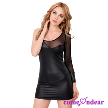 Fast Shipping OEM Two Color Simple New Fashion Ladies Dress