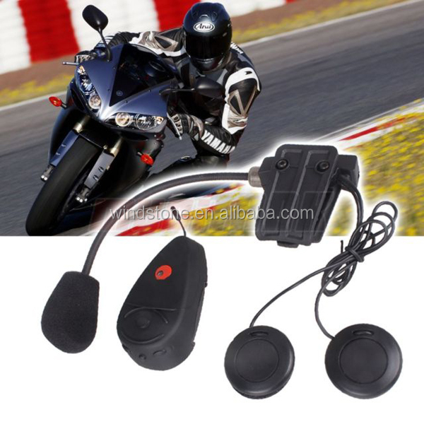 Motorcycle Helmets with Built in Intercom Motorcycle Bluetooth Helmet Headset Handsfree Stereo Headphone